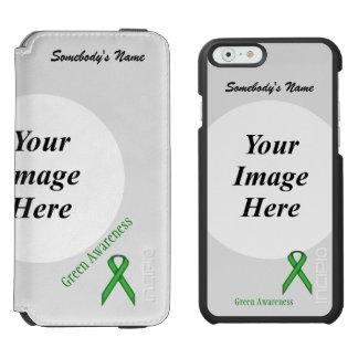 Coque-portefeuille iPhone 6 Incipio Watson™ Modèle standard vert de ruban