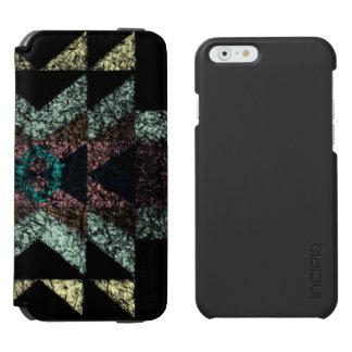 Coque-portefeuille iPhone 6 Incipio Watson™ Modèle tribal usé