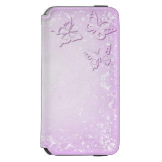Coque-portefeuille iPhone 6 Incipio Watson™ Papillons roses