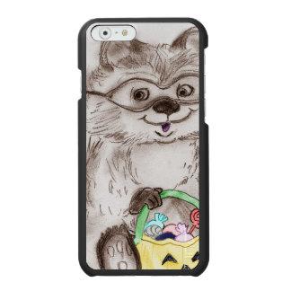 Coque-portefeuille iPhone 6 Incipio Watson™ Raton laveur heureux de Halloween