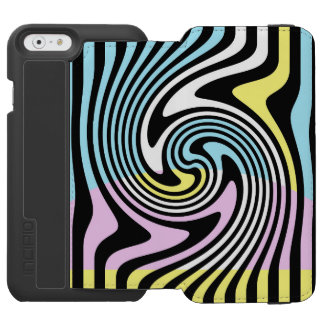 Coque-portefeuille iPhone 6 Incipio Watson™ Remous de rayures