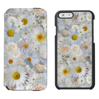Coque-portefeuille iPhone 6 Incipio Watson™ Ressort nuptiale de mariage floral de bouquet de