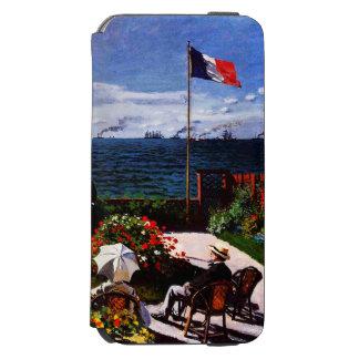Coque-portefeuille iPhone 6 Incipio Watson™ Terrasse de Claude Monet-The chez Sainte-Adresse