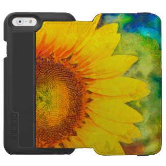 Coque-portefeuille iPhone 6 Incipio Watson™ Tournesol