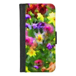 Coque Portefeuille Pour iPhone 8/7 iPhone vert d'impressions florales 8/7 caisse de