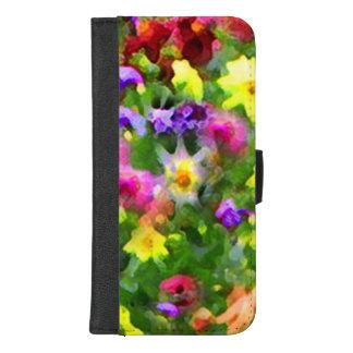 Coque Portefeuille Pour iPhone 8/7 Plus iPhone floral d'impressions 8/7 caisse plus de