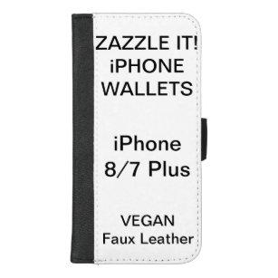 Coque Portefeuille Pour iPhone 8/7 Plus iPhone personnalisé par coutume 8/7 blanc plus de