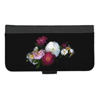 Coque Portefeuille Pour iPhone 8/7 Plus iPhone vintage de roses 8/7 caisse plus de