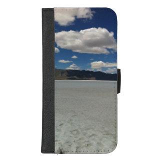 Coque Portefeuille Pour iPhone 8/7 Plus Paysage d'appartements de sel de l'Utah