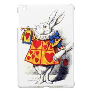 Coque Pour iPad Mini Alice au pays des merveilles le lapin blanc par