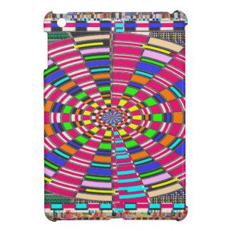 Coque Pour iPad Mini ART coloré circulaire rond de cercle de mandala de