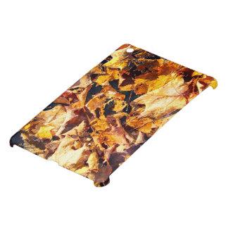 Coque Pour iPad Mini Art tombé d'aquarelle d'hiver d'automne de feuille