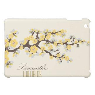 Coque Pour iPad Mini Belles fleurs de cerisier jaunes