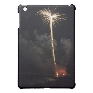 Coque Pour iPad Mini Célébration de feux d'artifice la nuit