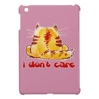 Coque Pour iPad Mini chat insouciant se reposant revenu