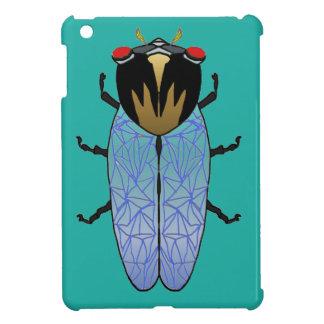 Coque Pour iPad Mini Cigale noire mignonne