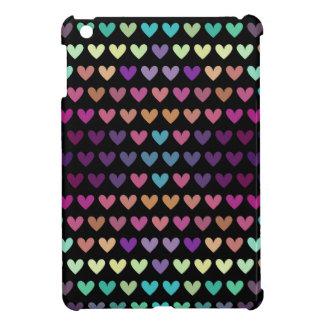 Coque Pour iPad Mini Coeurs mignons colorés V
