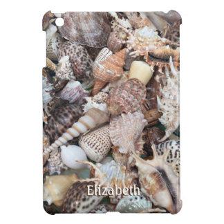 Coque Pour iPad Mini Coquillage exotique et nom