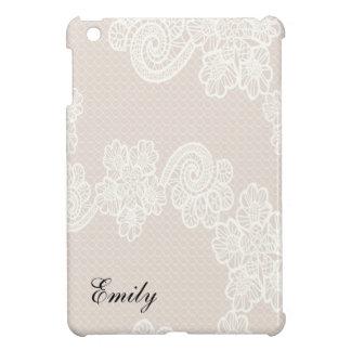 Coque Pour iPad Mini Dentelle florale vintage adorable avec du charme