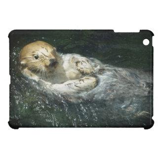 Coque Pour iPad Mini Dérive loin - de la loutre de mer