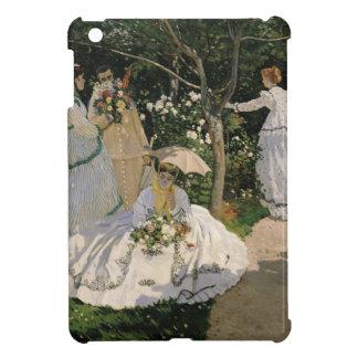 Coque Pour iPad Mini Femmes de Claude Monet | dans le jardin, 1866