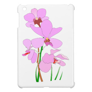 Coque Pour iPad Mini Fleurs roses d'orchidée