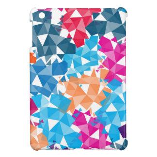Coque Pour iPad Mini Formes 3D géométriques colorées