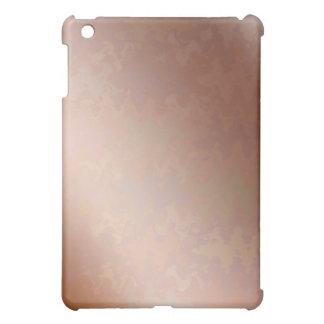 Coque Pour iPad Mini Guirlande de coeur de douche sur le plateau d'or