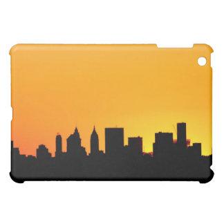 Coque Pour iPad Mini Horizon de New York City au coucher du soleil,