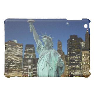 Coque Pour iPad Mini Horizon de New York City et la statue de la