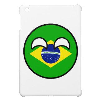 Coque Pour iPad Mini Le Brésil Geeky tendant drôle Countryball
