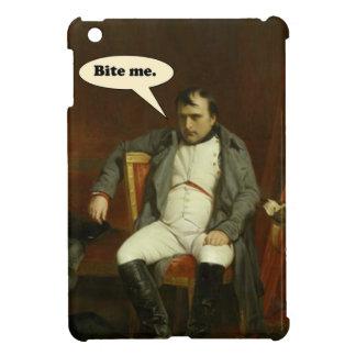Coque Pour iPad Mini Le napoléon indique :  Mordez-moi