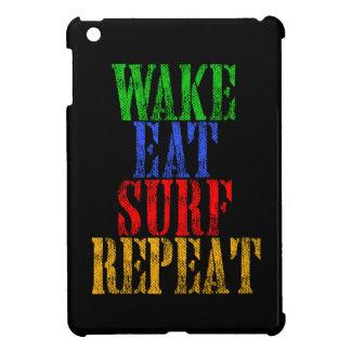 COQUE POUR iPad MINI LE SILLAGE MANGENT LA RÉPÉTITION DE SURF