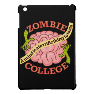 Coque Pour iPad Mini Logo drôle d'université de zombi