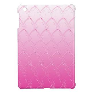Coque Pour iPad Mini Lumière aux échelles roses foncées