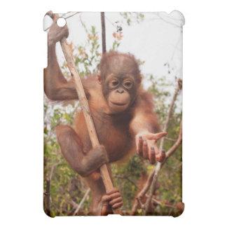 Coque Pour iPad Mini Maçon doux d'orang-outan de bébé