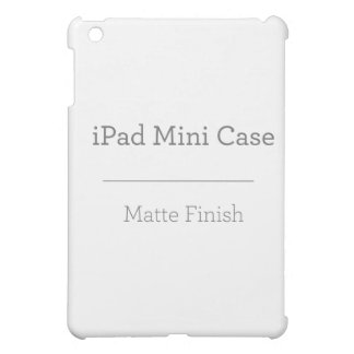Coque Pour iPad Mini Mini cas d'iPad mat fait sur commande