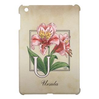 Coque Pour iPad Mini Monogramme de fleur d'Ulster Mary