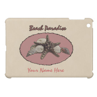 Coque Pour iPad Mini Ovale rose de coquillages