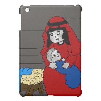 Coque Pour iPad Mini Petits Mary et Jésus