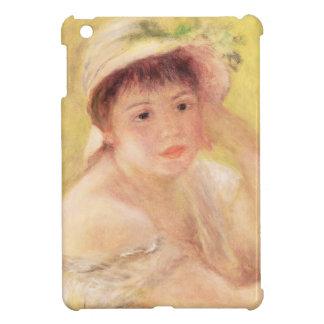 Coque Pour iPad Mini Pierre une femme de Renoir | dans un chapeau de