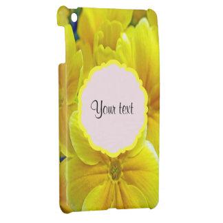 Coque Pour iPad Mini Primevères jaunes