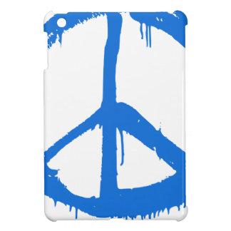 Coque Pour iPad Mini Symbole bleu de signe de paix