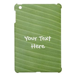 Coque Pour iPad Mini Texture exotique de feuille de banane