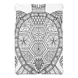 Coque Pour iPad Mini Tortue de mer florale