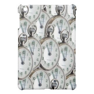 Coque Pour iPad Mini Visages d'horloge multiples