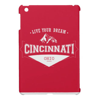 Coque Pour iPad Mini Vivent votre Cincinnati rêveur Ohio