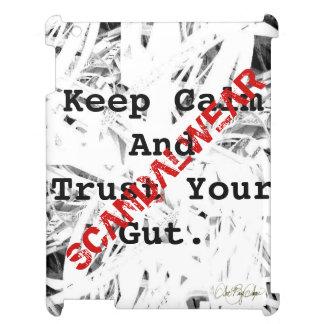 Coque Pour iPad Scandalwear® (gardez le calme et faites confiance
