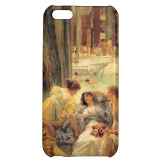 Coque Pour iPhone 5C Les bains de Caracalla par Lawrence Alma-Tadema