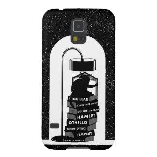 Coque Pour Samsung Galaxy S5 Chat mignon lisant des jeux de Shakespeare